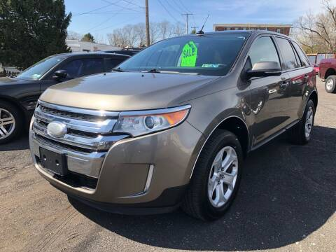 2013 Ford Edge for sale at Mayer Motors of Pennsburg in Pennsburg PA