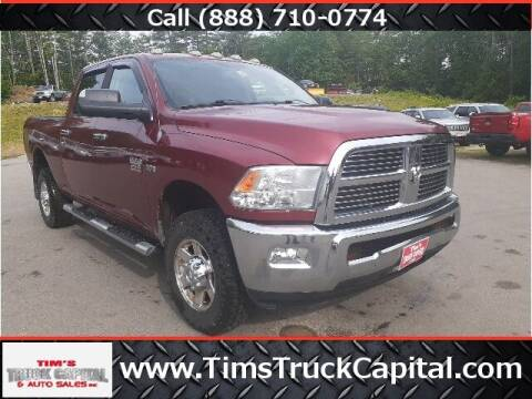 2012 RAM Ram Pickup 2500 for sale at TTC AUTO OUTLET/TIM'S TRUCK CAPITAL & AUTO SALES INC ANNEX in Epsom NH
