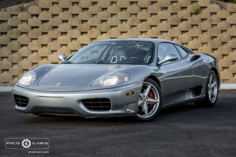 2000 Ferrari 360 Modena for sale at Veloce Motorsales in San Diego CA