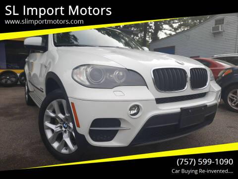 2011 BMW X5 for sale at SL Import Motors in Newport News VA