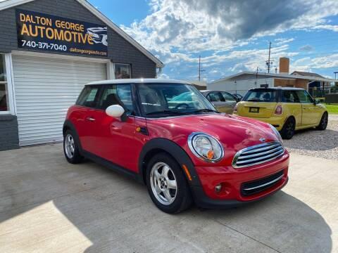 2011 MINI Cooper for sale at Dalton George Automotive in Marietta OH