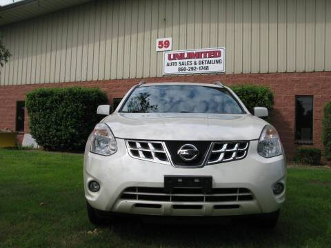 2013 Nissan Rogue for sale at Unlimited Auto Sales & Detailing, LLC in Windsor Locks CT