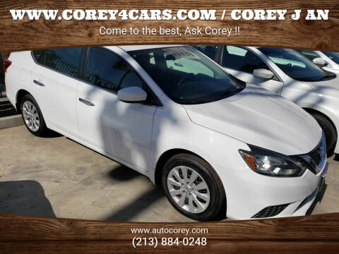 2017 Nissan Sentra for sale at WWW.COREY4CARS.COM / COREY J AN in Los Angeles CA
