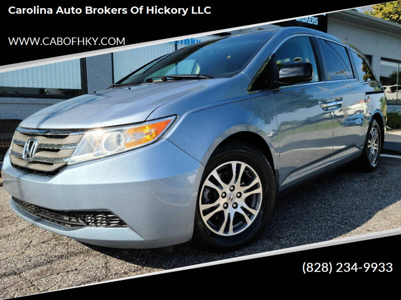 2011 Honda Odyssey for sale at Carolina Auto Brokers of Hickory LLC in Newton NC