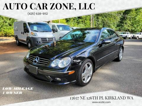 2005 Mercedes-Benz CLK for sale at Auto Car Zone, LLC in Kirkland WA