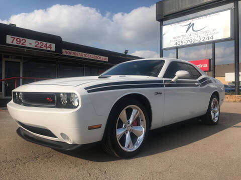 2014 Dodge Challenger for sale at NORRIS AUTO SALES in Oklahoma City OK