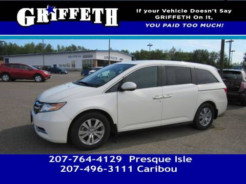 2015 Honda Odyssey for sale at Griffeth Mitsubishi - Pre-owned in Caribou ME