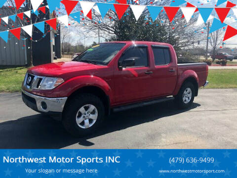 2011 Nissan Frontier for sale at Northwest Motor Sports INC in Rogers AR