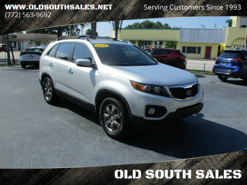 2013 Kia Sorento for sale at OLD SOUTH SALES in Vero Beach FL