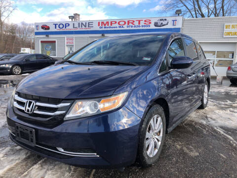 2014 Honda Odyssey for sale at Top Line Import of Methuen in Methuen MA