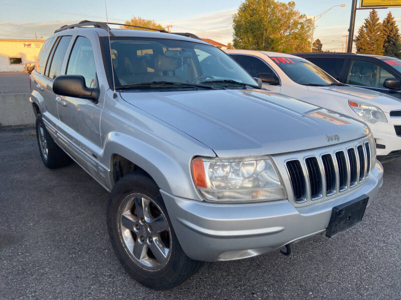 2003 Jeep Grand Cherokee for sale at BELOW BOOK AUTO SALES in Idaho Falls ID