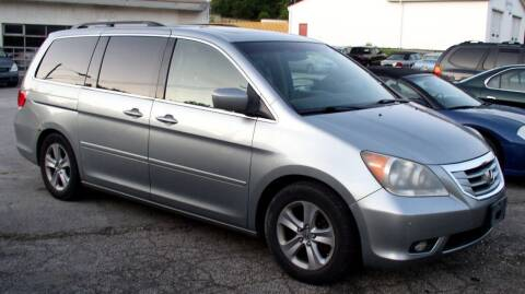 2008 Honda Odyssey for sale at Angelo's Auto Sales in Lowellville OH