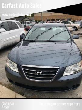 2009 Hyundai Sonata for sale at Carfast Auto Sales in Dolton IL