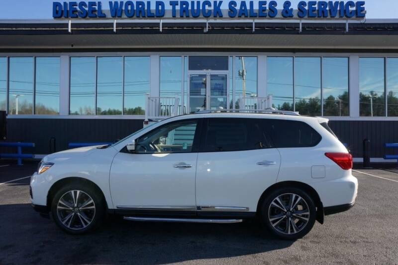 2019 Nissan Pathfinder for sale at Diesel World Truck Sales in Plaistow NH