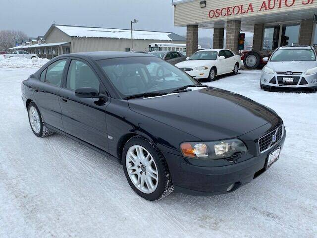 2004 Volvo S60 for sale at Osceola Auto Sales and Service in Osceola WI