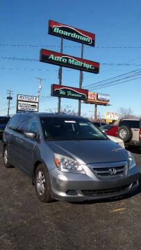 2006 Honda Odyssey for sale at Boardman Auto Mall in Boardman OH