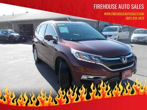 2016 Honda CR-V for sale at Firehouse Auto Sales in Springville UT