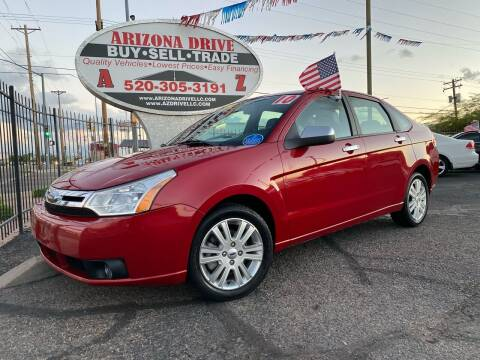2010 Ford Focus for sale at Arizona Drive LLC in Tucson AZ