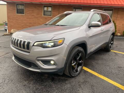 2019 Jeep Cherokee for sale at Rusak Motors LTD. in Cleveland OH