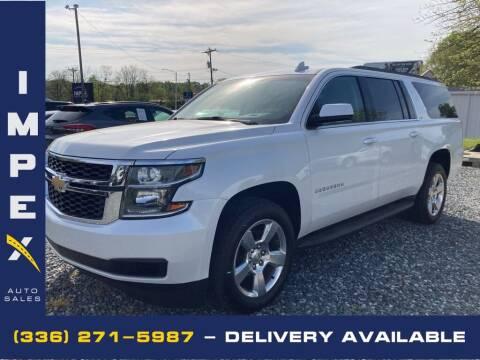 2016 Chevrolet Suburban for sale at Impex Auto Sales in Greensboro NC