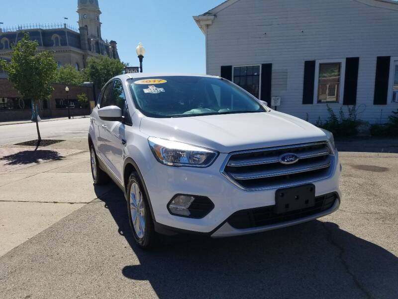 2017 Ford Escape for sale at BELLEFONTAINE MOTOR SALES in Bellefontaine OH