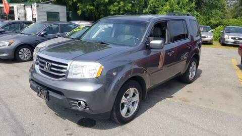 2013 Honda Pilot for sale at Howe's Auto Sales in Lowell MA