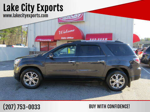 2014 GMC Acadia for sale at Lake City Exports - Lewiston in Lewiston ME