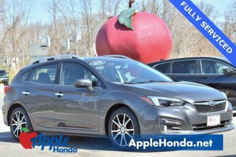 2018 Subaru Impreza for sale at APPLE HONDA in Riverhead NY
