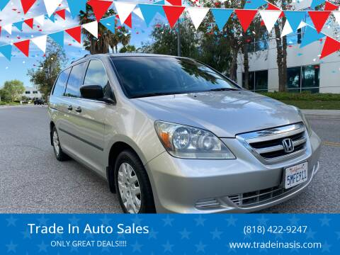2005 Honda Odyssey for sale at Trade In Auto Sales in Van Nuys CA