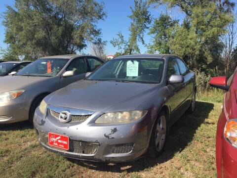 2006 Mazda MAZDA6 for sale at BARNES AUTO SALES in Mandan ND