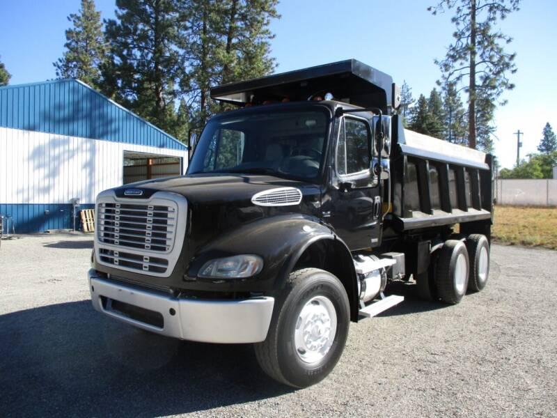 2009 Freightliner M2 Dump Truck for sale at BJ'S COMMERCIAL TRUCKS in Spokane Valley WA