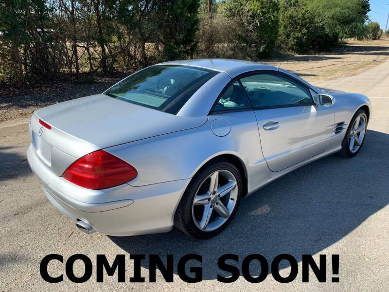 2004 Mercedes-Benz SL-Class for sale at TROPHY MOTORS in New Braunfels TX