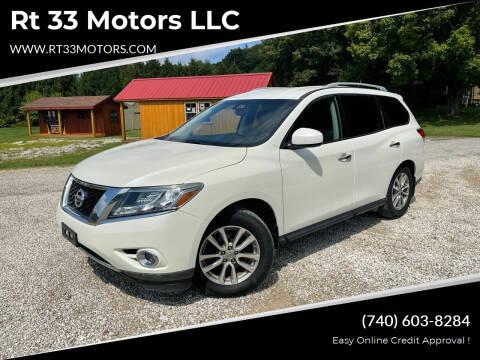 2015 Nissan Pathfinder for sale at Rt 33 Motors LLC in Rockbridge OH