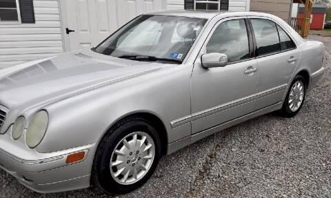 2000 Mercedes-Benz E-Class for sale at Summit Motors LLC in Morgantown WV