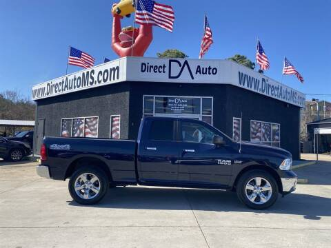2014 RAM Ram Pickup 1500 for sale at Direct Auto in D'Iberville MS