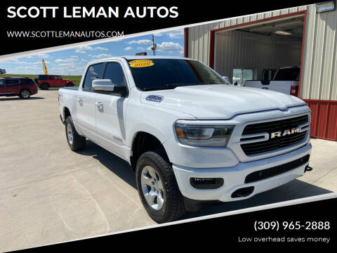 2020 RAM Ram Pickup 1500 for sale at SCOTT LEMAN AUTOS in Goodfield IL