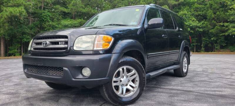 2004 Toyota Sequoia for sale at El Camino Auto Sales - Global Imports Auto Sales in Buford GA