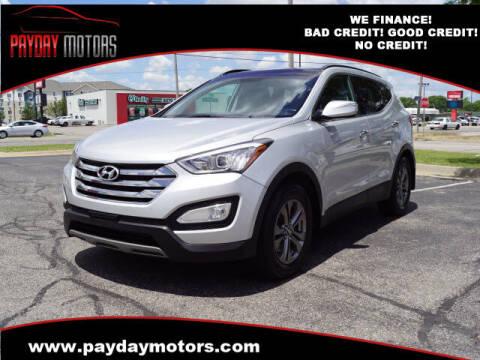 2014 Hyundai Santa Fe Sport for sale at Payday Motors in Wichita KS