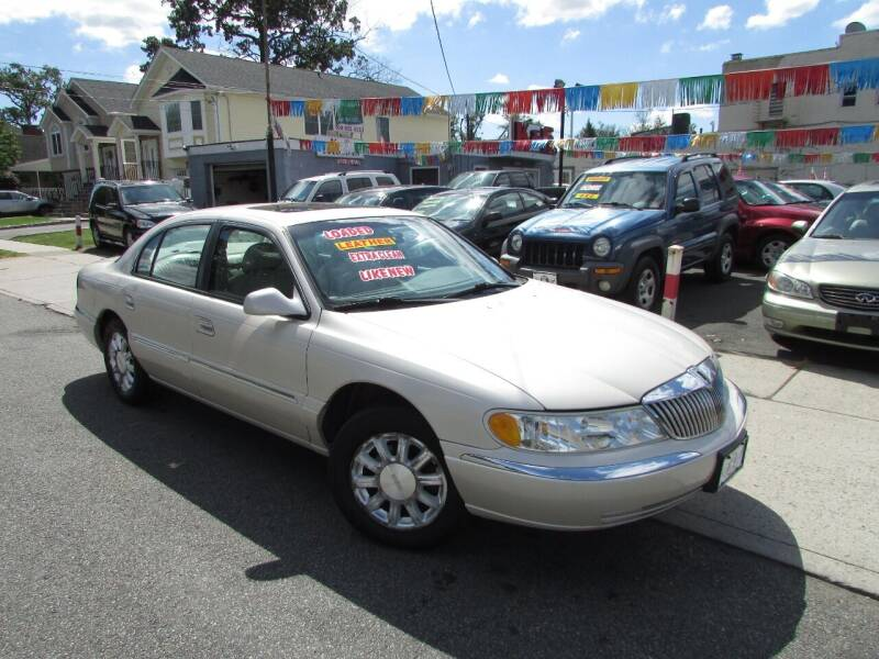 2002 Lincoln Continental for sale at K & S Motors Corp in Linden NJ