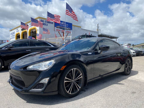 2013 Scion FR-S for sale at INTERNATIONAL AUTO BROKERS INC in Hollywood FL
