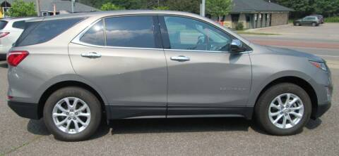2018 Chevrolet Equinox for sale at The AUTOHAUS LLC in Tomahawk WI