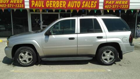 2006 Chevrolet TrailBlazer for sale at Paul Gerber Auto Sales in Omaha NE