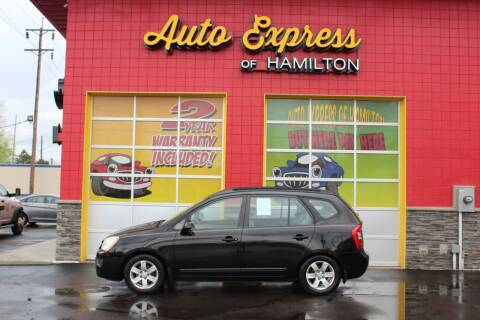 2007 Kia Rondo for sale at AUTO EXPRESS OF HAMILTON LLC in Hamilton OH
