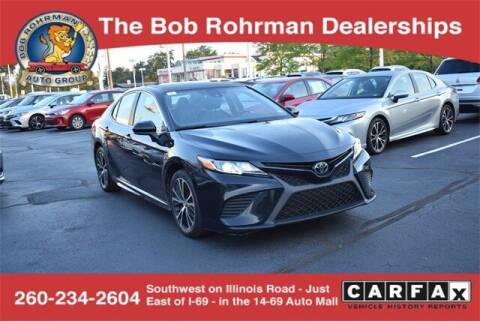 2019 Toyota Camry for sale at BOB ROHRMAN FORT WAYNE TOYOTA in Fort Wayne IN