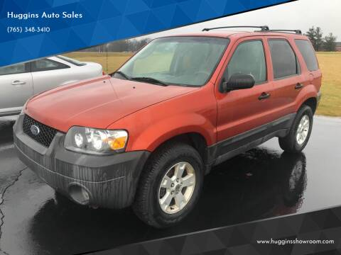 2006 Ford Escape for sale at Huggins Auto Sales in Hartford City IN