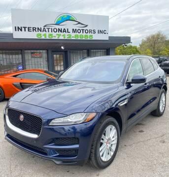 2018 Jaguar F-PACE for sale at International Motors Inc. in Nashville TN