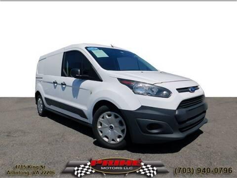 2016 Ford Transit Connect Cargo for sale at PRIME MOTORS LLC in Arlington VA