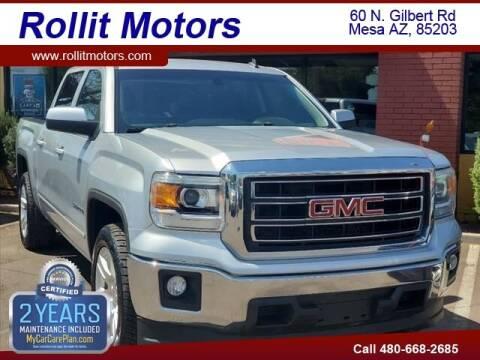 2014 GMC Sierra 1500 for sale at Rollit Motors in Mesa AZ