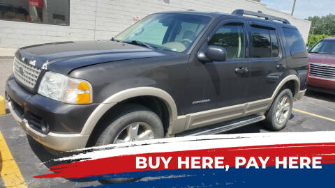 2005 Ford Explorer for sale at Jeffreys Auto Resale, Inc in Clinton Township MI