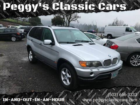 2001 BMW X5 for sale at Peggy's Classic Cars in Oregon City OR